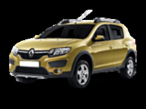 Багажники на Renault Sandero Stepway на рейлинги