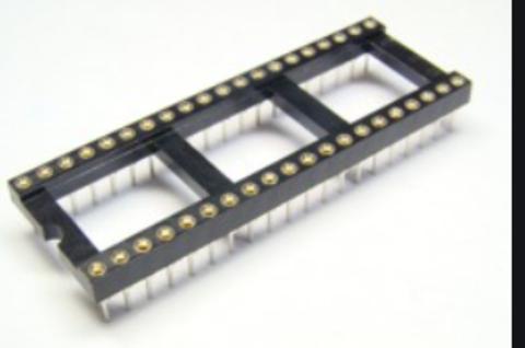 Панельки цанговые для микросхем ширина 15 мм