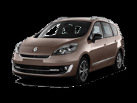 Багажники на Renault Scenic III 2009-2016 на рейлинги