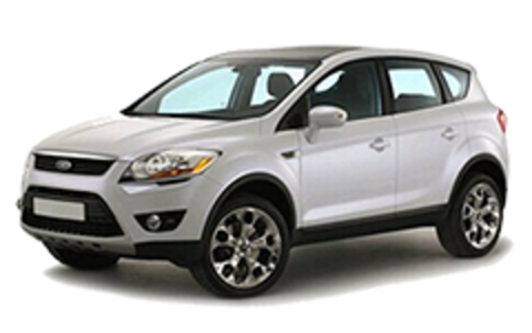 Багажники на Ford Kuga I 2008-2012 за дверные проемы