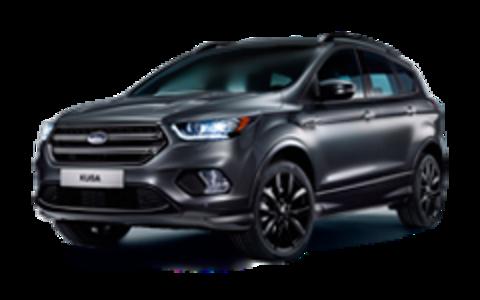 Багажники на Ford Kuga II 2012-2019 за дверные проемы