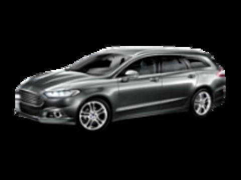 Багажники на Ford Mondeo V 2015-2019 универсал низкие рейлинги