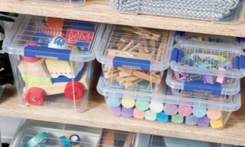 Контейнеры и органайзеры для хранения мелочей