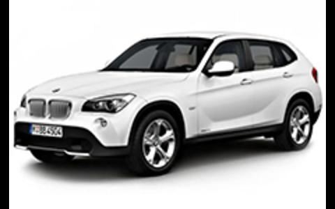 Багажники на BMW X1 E84 2010-2015 на низкие рейлинги