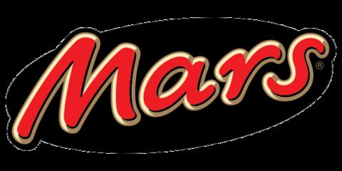 Mars, Snickers, Twix, Bounty