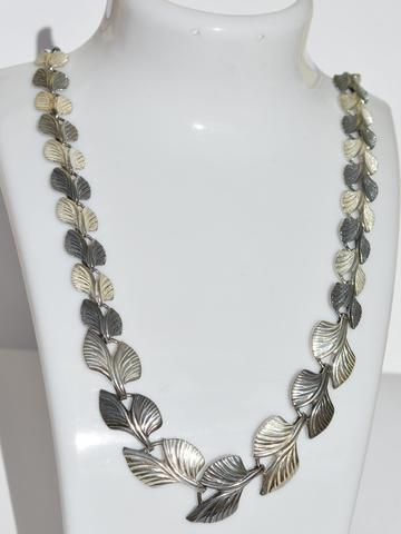 Серебряные цепочки-колье