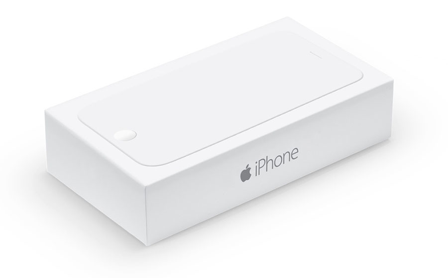 Empty Packaging for iPhone