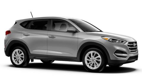 Багажники на Hyandai Tucson III 2016-2019 за дверные проемы