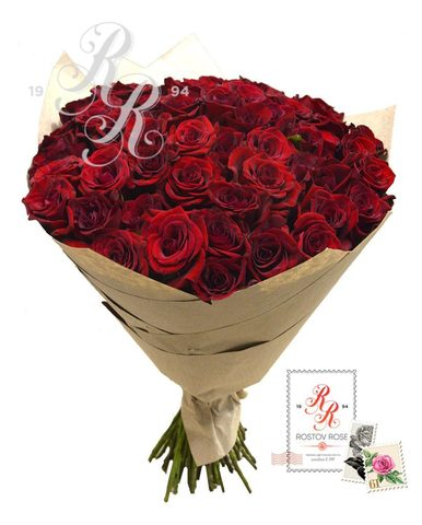 101 роза стандартная форма