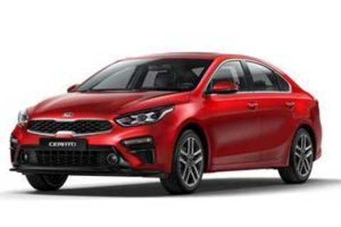 Багажники на Kia Cerato IV 2018-2020 седан
