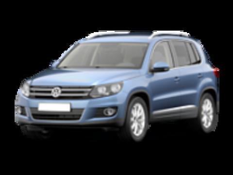 Пороги на Volkswagen Tiguan
