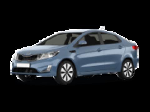 Багажники на Kia Rio III 2011-2017 седан