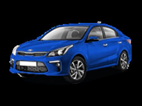 Багажники на Kia Rio IV 2017-2019 седан