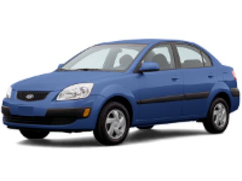 Багажники на Kia Rio II 2005-2011 седан