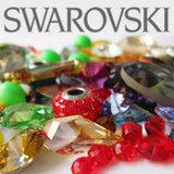 Swarovski кристаллы (подвески, бусины, стразы)