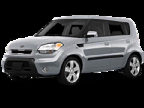 Багажники на Kia Soul I 2008-2014 на рейлинги