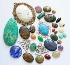 Кабошоны и камеи