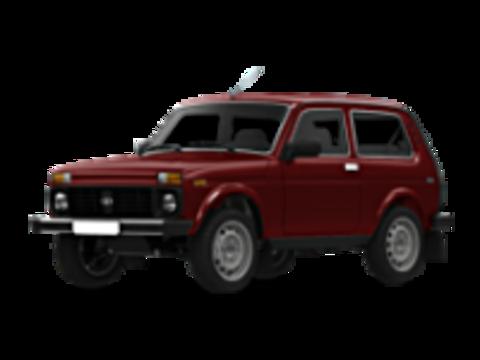 Багажники на Lada Нива 2121, 2131 на водосток