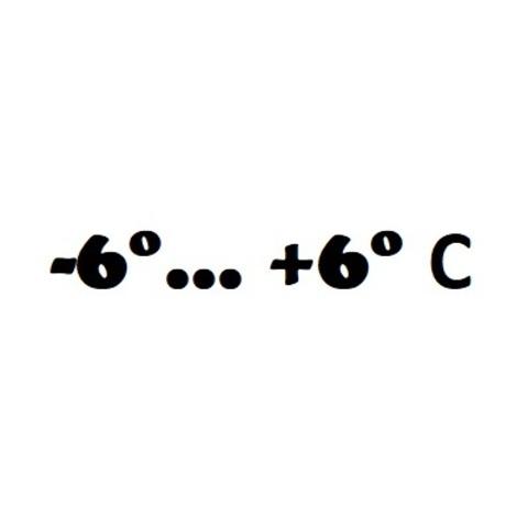 -6° ... +6° C