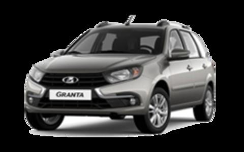 Багажники на Lada Granta Универсал на рейлинги
