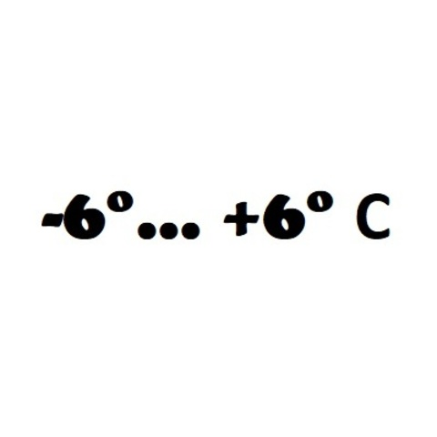 -6° ... +6° С