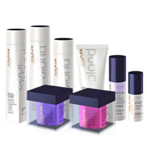 LUXURY BLOND   для осветлённых, мелированных волос, которым необходим уход и максимальная защита цвета.