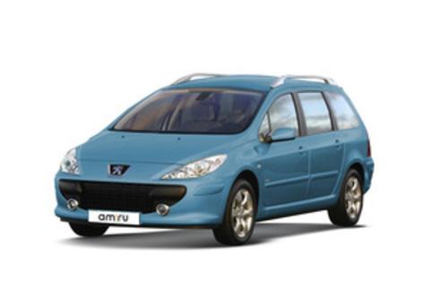 Багажники на Peugeot 307 Универсал 2001-2008