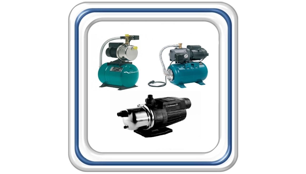 Насосные установки для водоснабжения