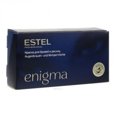 Estel Enigma уход и краска для бровей и ресниц