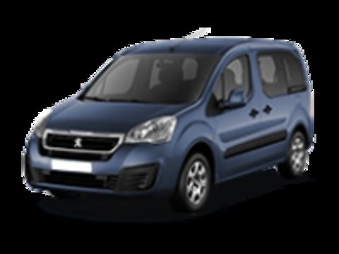 Багажники на Peugeot Partner II (Tepee) 2008-2019 штатные места