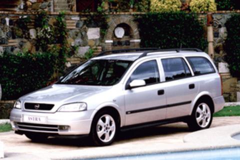 Багажники на Opel Astra G 1998-2005 на рейлинги