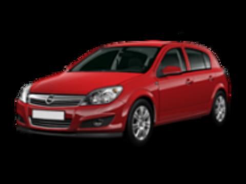 Багажники на Opel Astra H 2004-2011 на штатные места