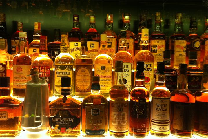 Виски, ром, текила