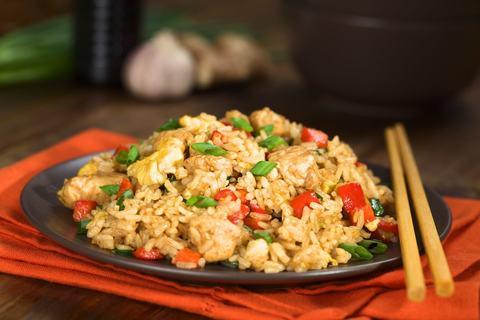 Рис (Wok)