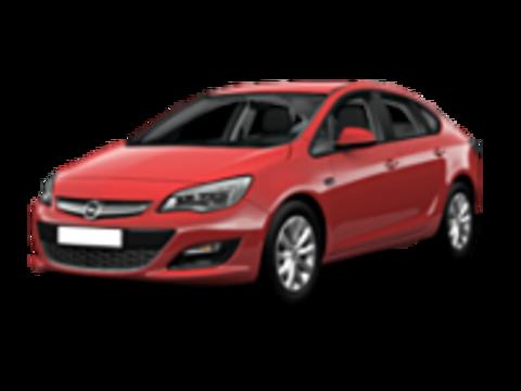 Багажники на Opel Astra J 2009-2015 седан