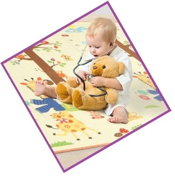 Игровые коврики для детей Superlight