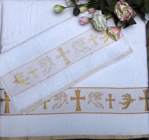 Полотенце для Крещения. Крыжма