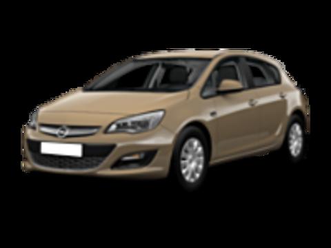 Багажники на Opel Astra J 2009-2015 хэтчбек