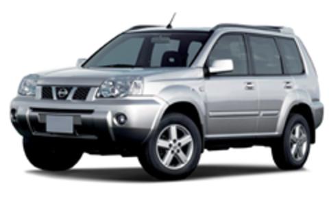 Пороги на Nissan X-Trail 2007-2014