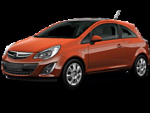 Багажники на Opel Corsa D 2006-2014 3-х, 5 ти дверный