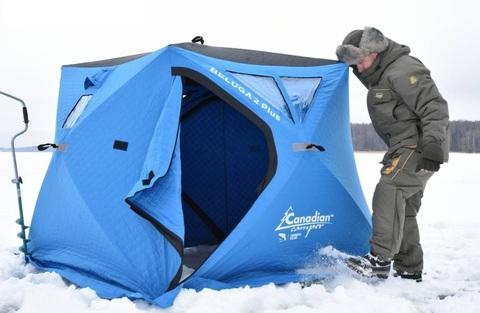 Зимние рыболовные палатки