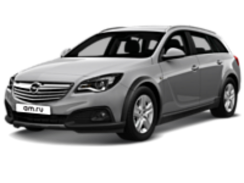 Багажники на Opel Insignia Универсал штатное место