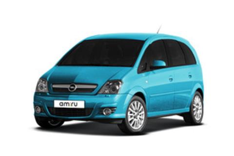 Багажники на Opel Meriva A 2002-2010 на штатные места