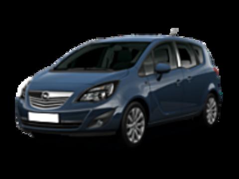 Багажники на Opel Meriva B 2010-2019 штатные места