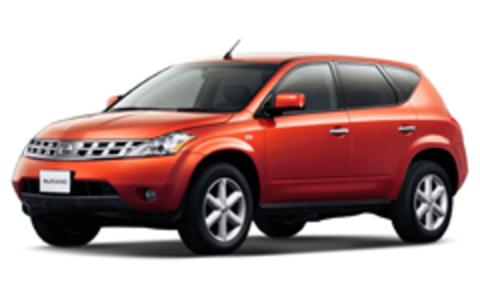 Багажник на крышу Nissan Murano 2002-2008 за дверные проемы