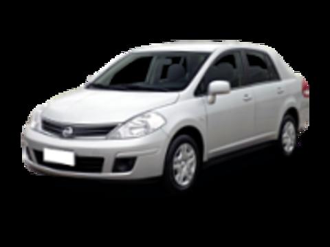 Багажники на крышу Nissan Tiida C12 2004-2019 седан