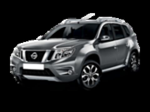 Багажники на крышу Nissan Terrano III 2014-2019 на рейлинги