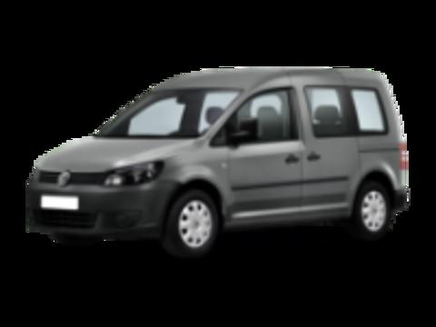 Багажники на Volkswagen Caddy III 2010-2015 на штатные места