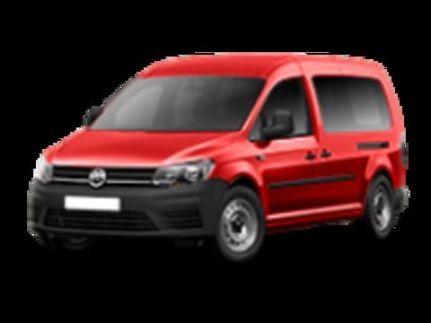 Багажники на Volkswagen Caddy IV 2015-2019 на штатные места