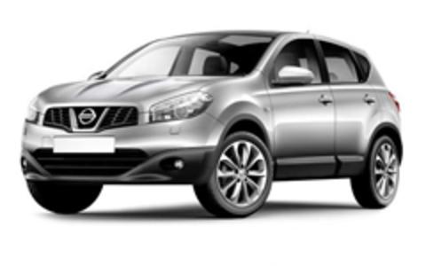 Багажник на Nissan Qashqai I 2007-2013 за дверной проем